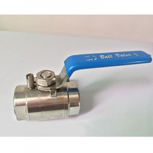 Chinese manufacturers Stainless Steel 2pc Ball Valves