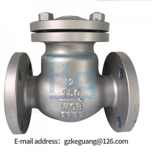 Factory Direct Supply Food Grade Stainless Steel Flange Check Valve